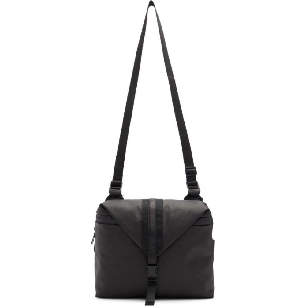 コート エ シエル Cote & Ciel メンズ メッセンジャーバッグ バッグ【Black Coated Canvas Yakima Bag】Black