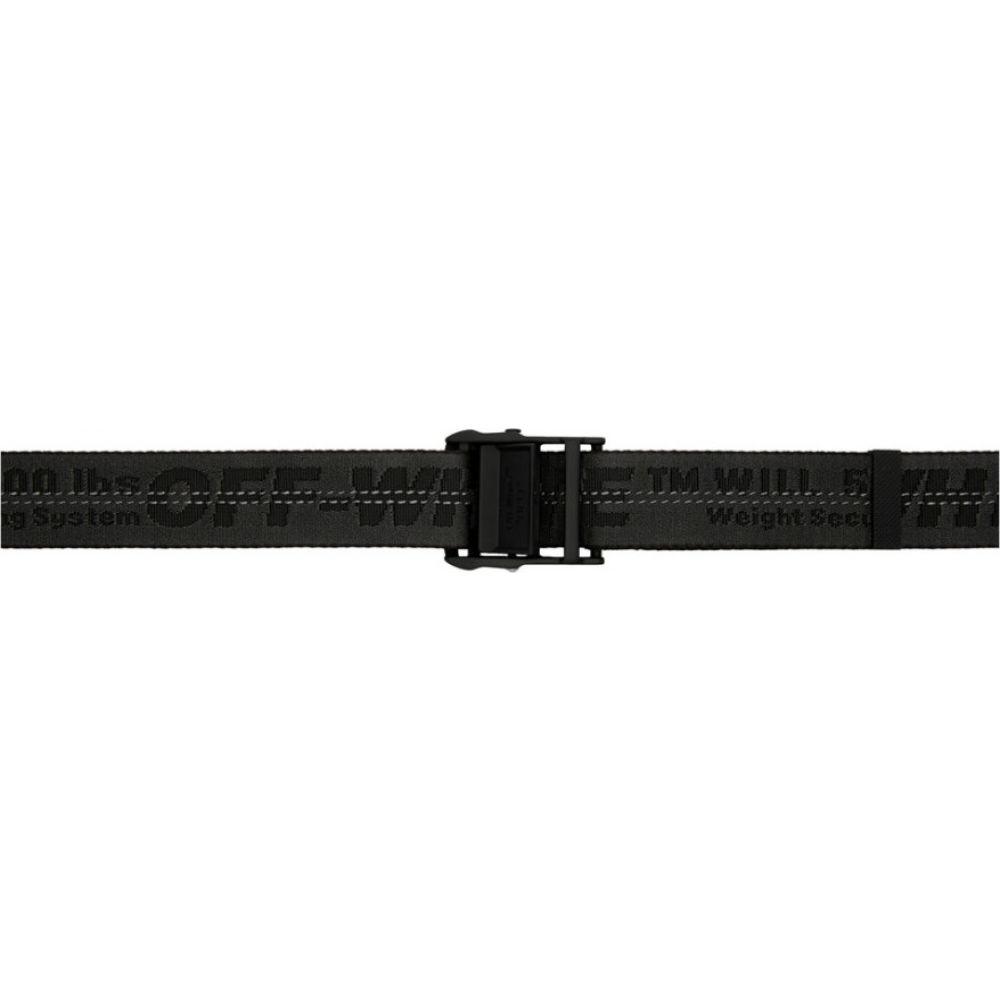 オフホワイト Off-White メンズ ベルト 【Black Industrial Belt】Black