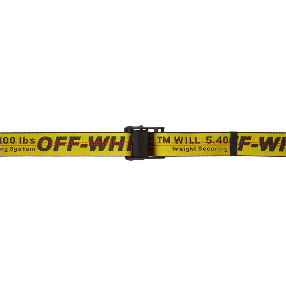 オフホワイト Off-White メンズ ベルト 【Yellow Industrial Belt】Yellow