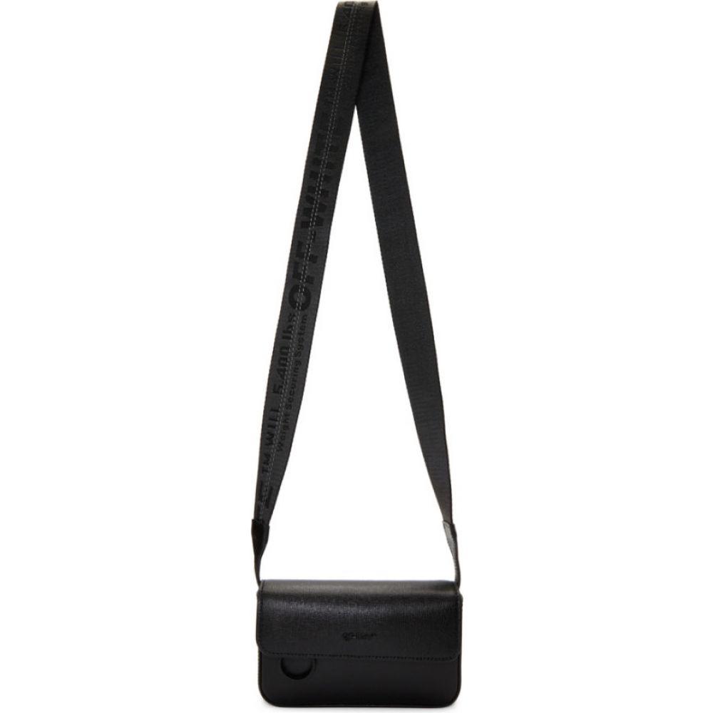 オフホワイト Off-White メンズ メッセンジャーバッグ バッグ【Black Crossbody Bag】Black