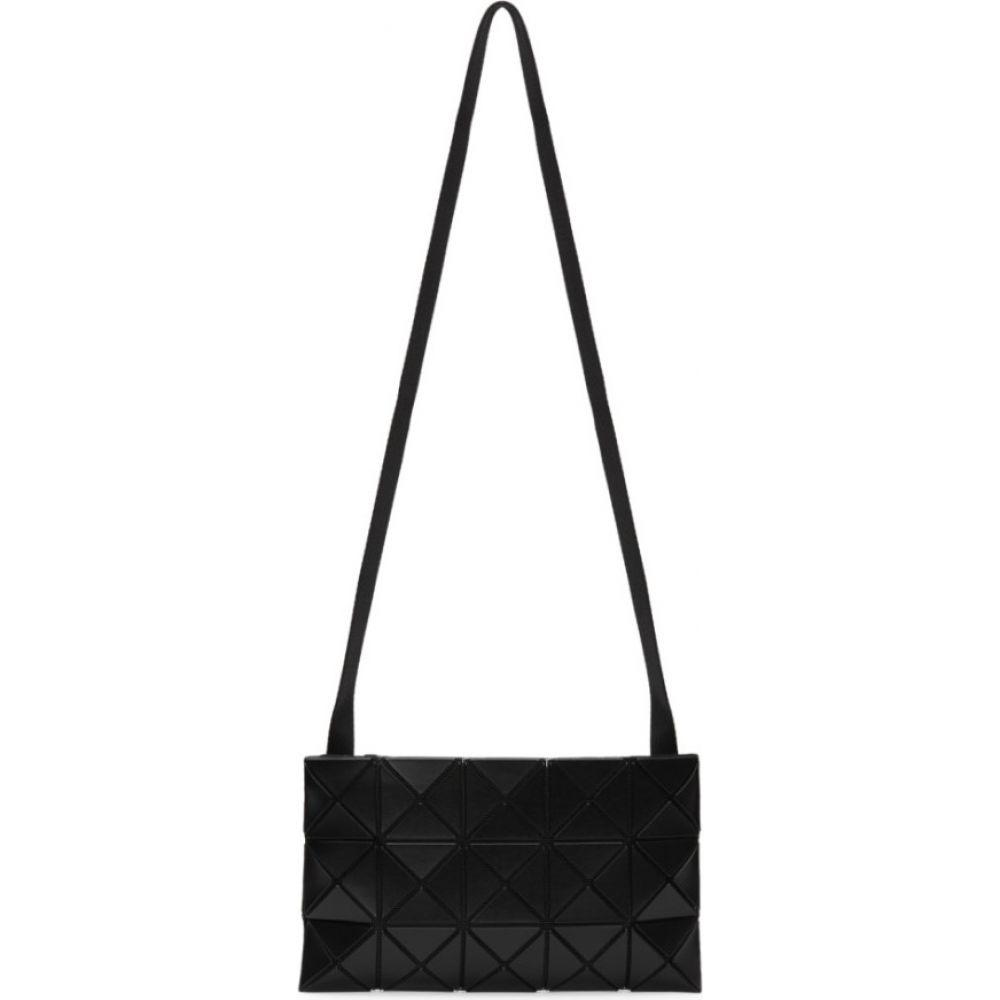イッセイ ミヤケ Bao Bao Issey Miyake メンズ メッセンジャーバッグ バッグ【Black Matte Lucent Messenger Bag】Matte black