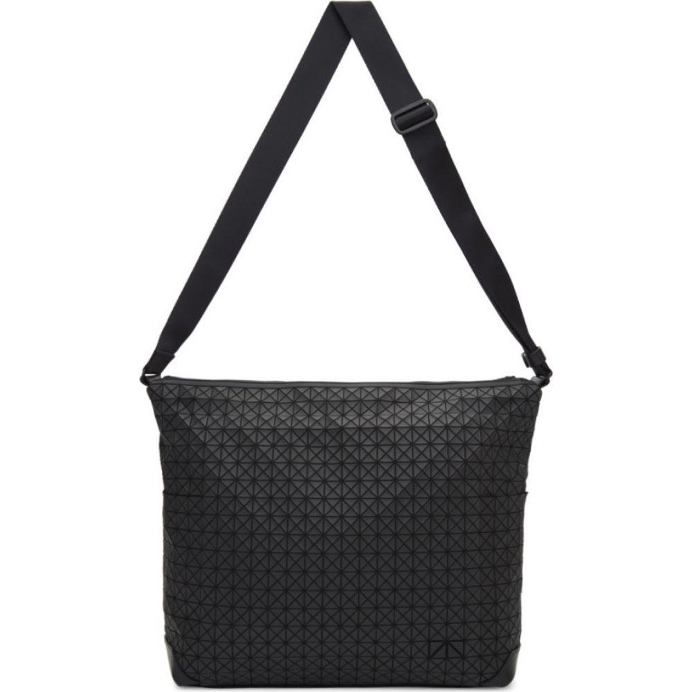 イッセイ ミヤケ Bao Bao Issey Miyake メンズ メッセンジャーバッグ バッグ【Black Curve Messenger Bag】Matte black