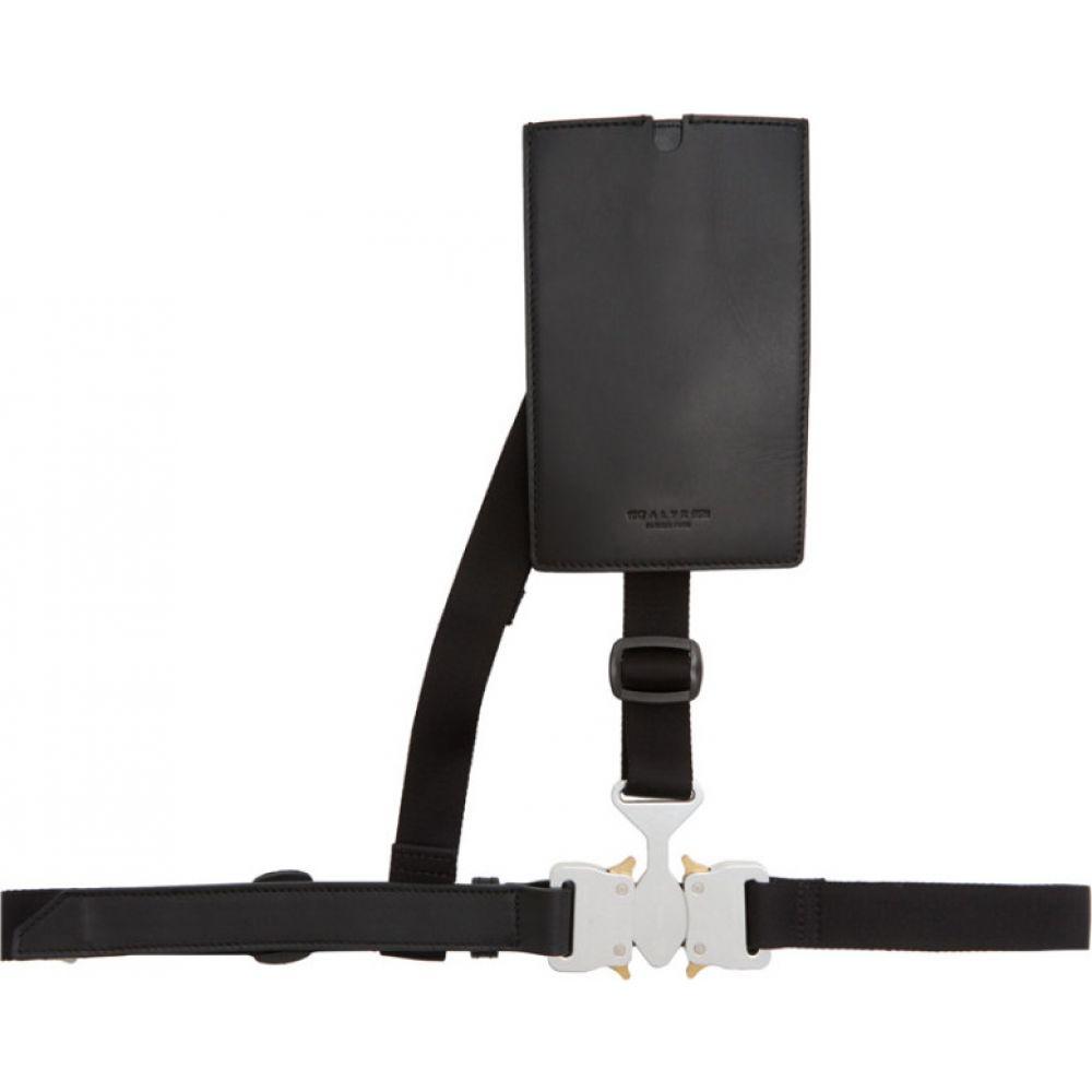 アリクス 1017 ALYX 9SM メンズ ベルト 【Black & Silver Chest Belt】Black