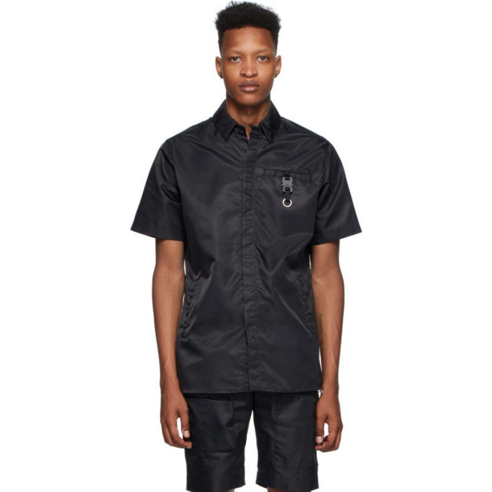 アリクス 1017 ALYX 9SM メンズ 半袖シャツ トップス【Black Buckle Short Sleeve Shirt】Black
