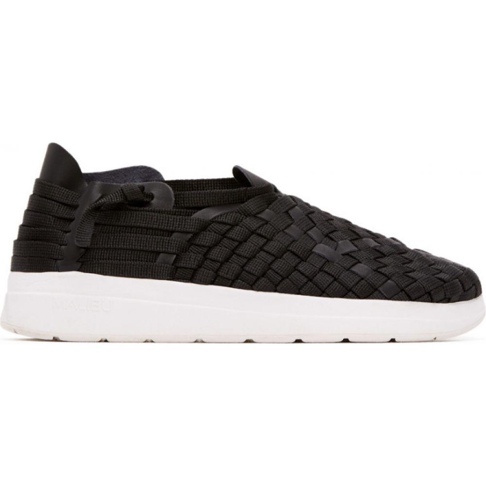 マリブサンダルズ Malibu Sandals メンズ スニーカー シューズ・靴【Black & White Latigo Sneakers】Black/White