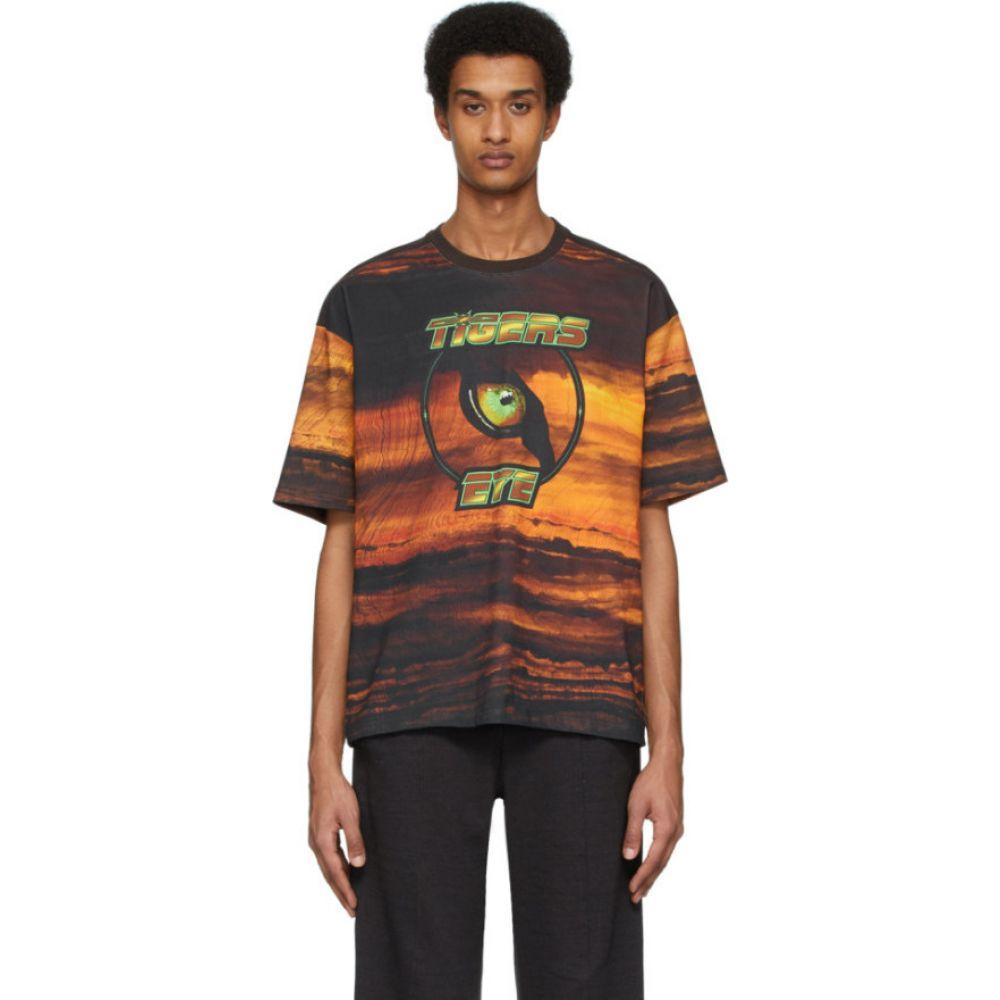 ピップス Phipps メンズ Tシャツ トップス【Orange Crystal T-Shirt】Tiger eyes/Lead