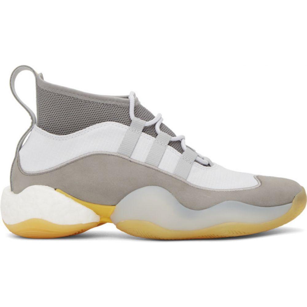 ベッドフォード BED J.W. FORD メンズ スニーカー シューズ・靴【Grey & White adidas Originals Edition Crazy BYW High-Top Sneakers】Grey/White