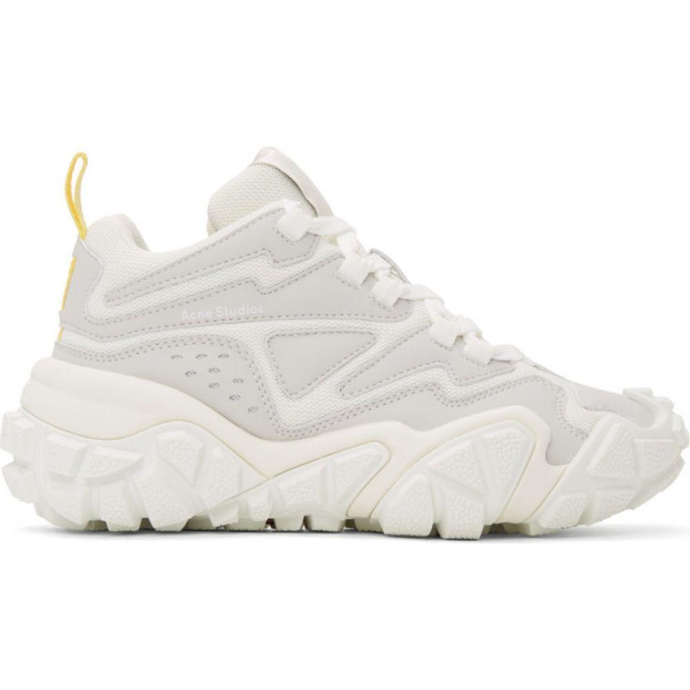 アクネ ストゥディオズ Acne Studios メンズ スニーカー シューズ・靴【White Bolzter Bensen Sneakers】White