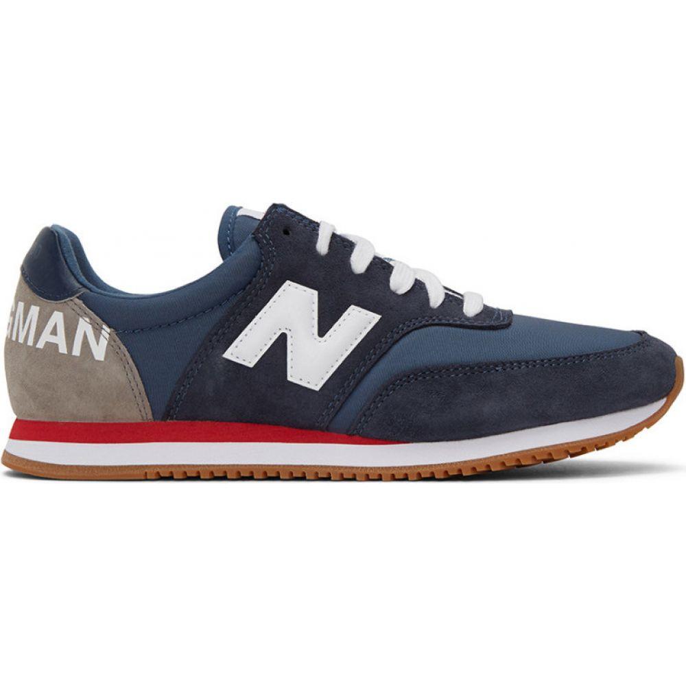 ジュンヤ ワタナベ Junya Watanabe メンズ スニーカー シューズ・靴【Navy New Balance Edition COMP 100 Sneakers】Navy