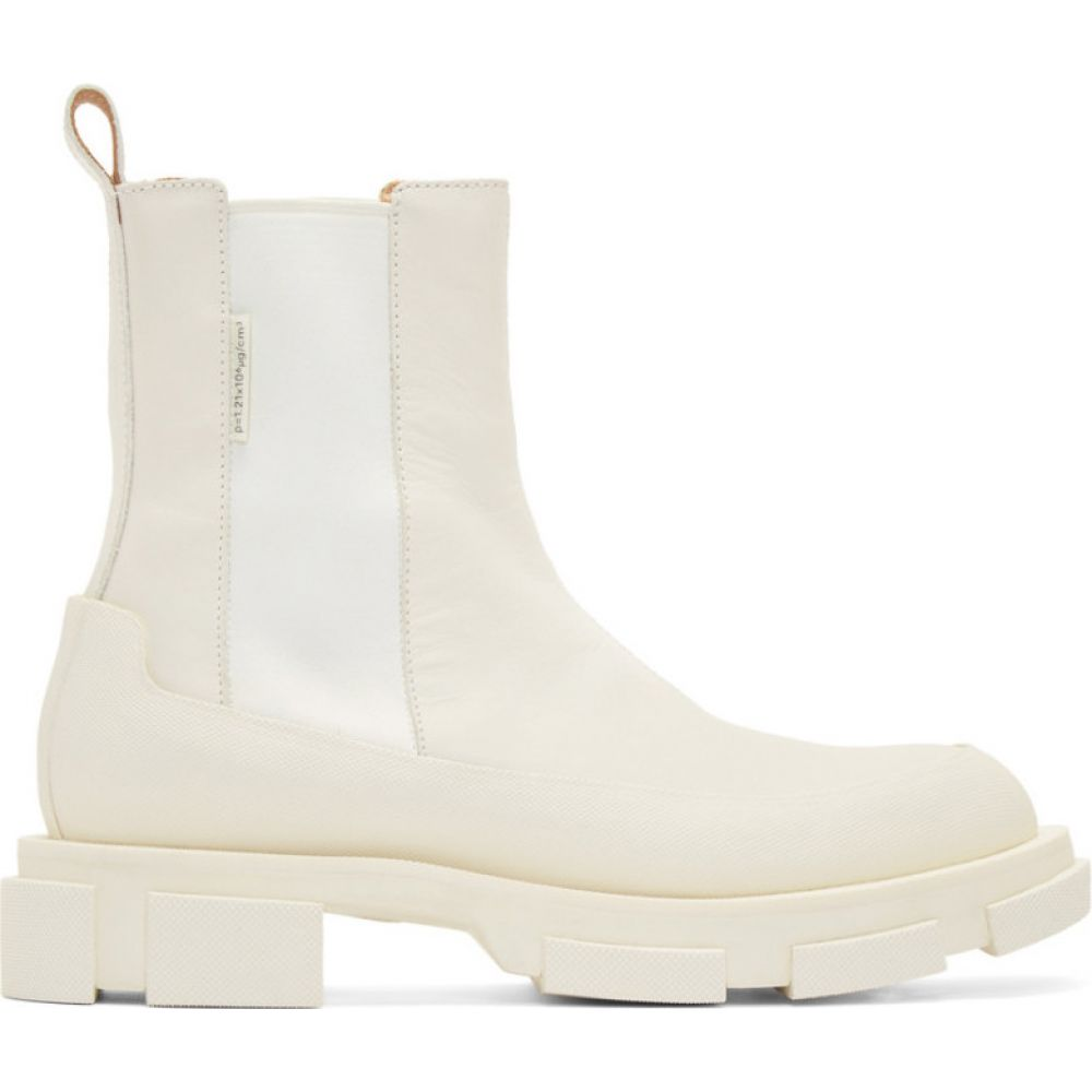 ボース both メンズ ブーツ チェルシーブーツ シューズ・靴【SSENSE Exclusive Off-White Gao Chelsea Boots】White