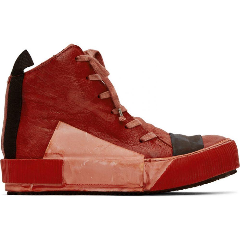 ボリス ビジャン サベリ Boris Bidjan Saberi メンズ スニーカー シューズ・靴【Red Bamba Sneakers】Blood red