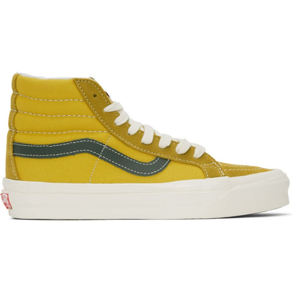 ヴァンズ Vans メンズ スニーカー シューズ・靴 YellowGreen OG Sk8 Hi LX Sneakers Green SulphurtsCQrdh