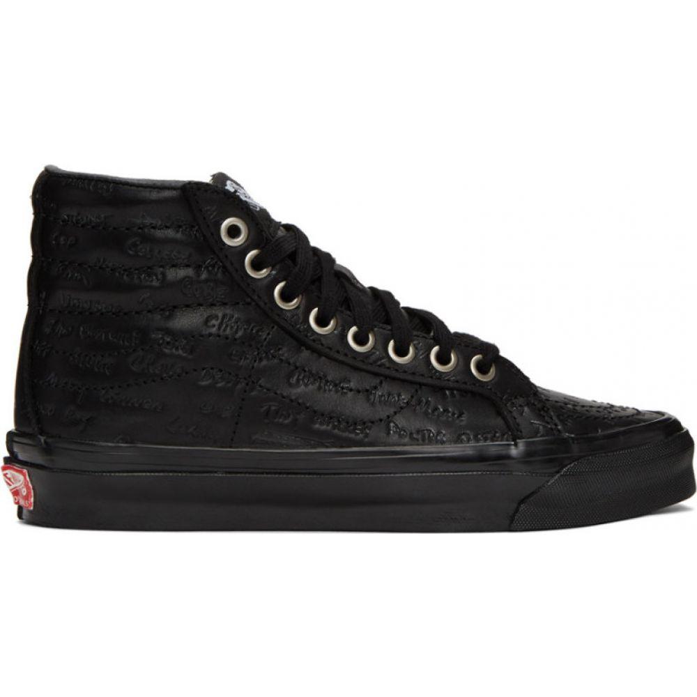 ヴァンズ Vans メンズ スニーカー シューズ・靴【Black Jim Goldberg Edition Raised By Wolves OG Sk8-High LX Sneakers】Black