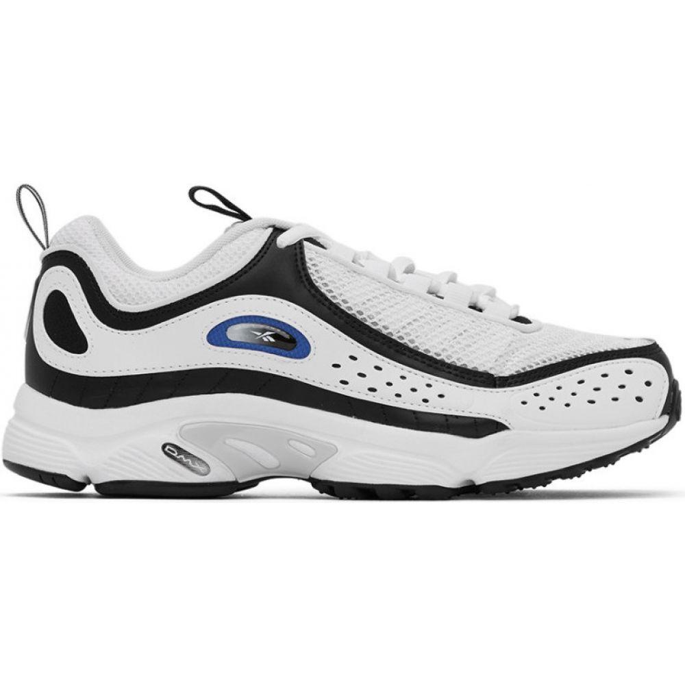 リーボック Reebok Classics メンズ スニーカー シューズ・靴【White & Black Daytona DMX II Sneakers】Black/White