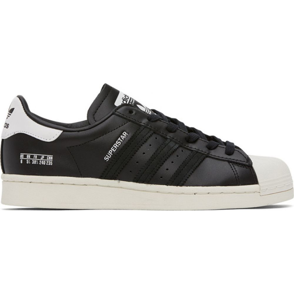 アディダス adidas Originals メンズ スニーカー シューズ・靴【Black & White Superstar Sneakers】Black/White