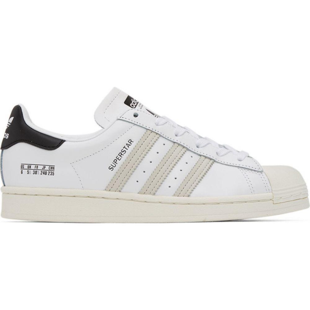 アディダス adidas Originals メンズ スニーカー シューズ・靴【White & Black Superstar Sneakers】White/Black