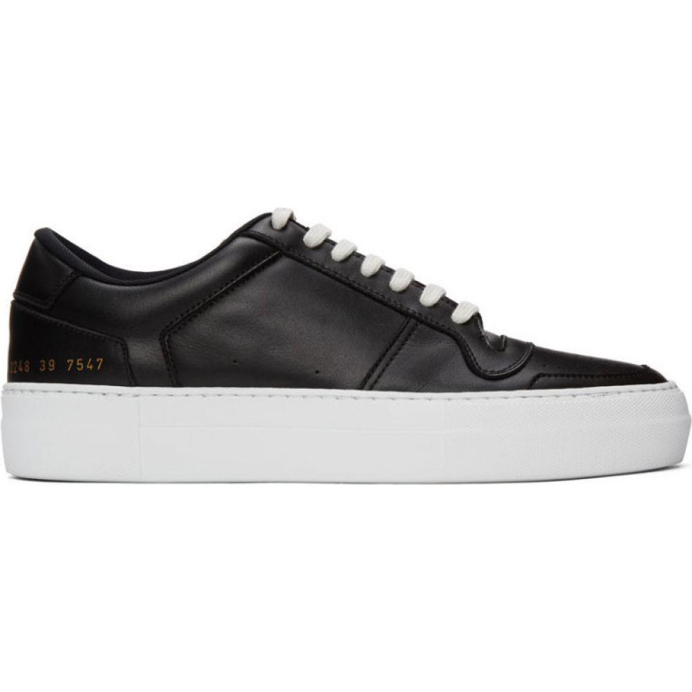 コモン プロジェクト Common Projects メンズ スニーカー シューズ・靴【Black Full Court Sneakers】Black
