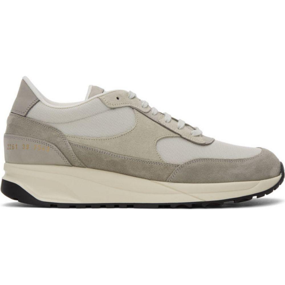 コモン プロジェクト Common Projects メンズ スニーカー シューズ・靴【Grey Track Classic Sneakers】Grey