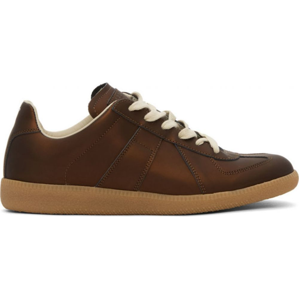 メゾン マルジェラ Maison Margiela メンズ スニーカー シューズ・靴【Brown Replica Sneakers】French