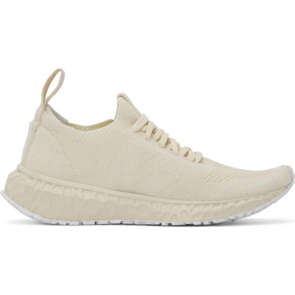 リック オウエンス Rick Owens メンズ スニーカー シューズ・靴【Off-White Veja Edition Low Sock Sneakers】Milk