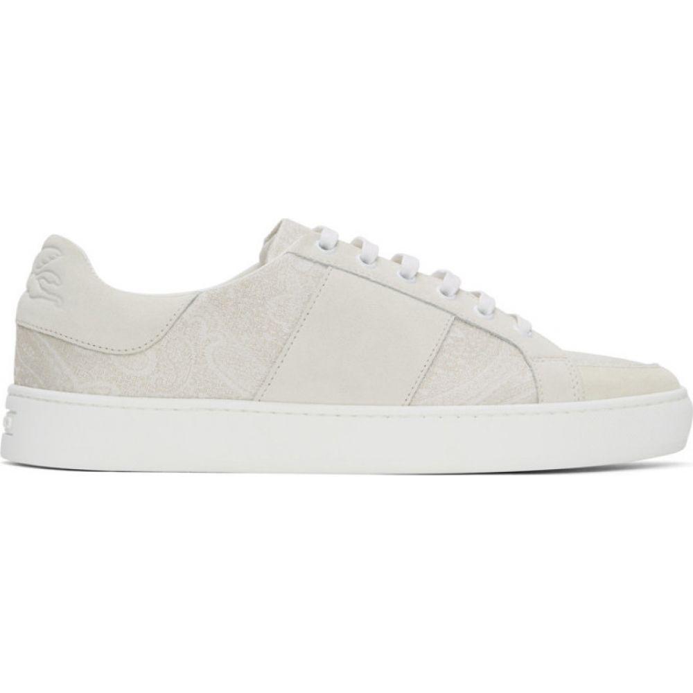 エトロ Etro メンズ スニーカー シューズ・靴【Off-White Paisley Sneakers】White