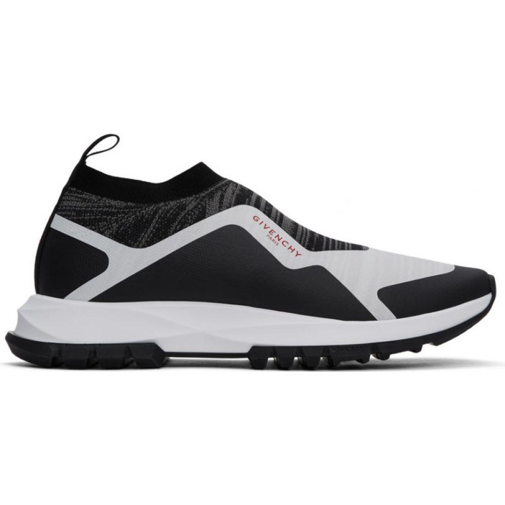 ジバンシー Givenchy メンズ スニーカー シューズ・靴【Black & White Spectre Runner Sock Low Sneakers】Black/White