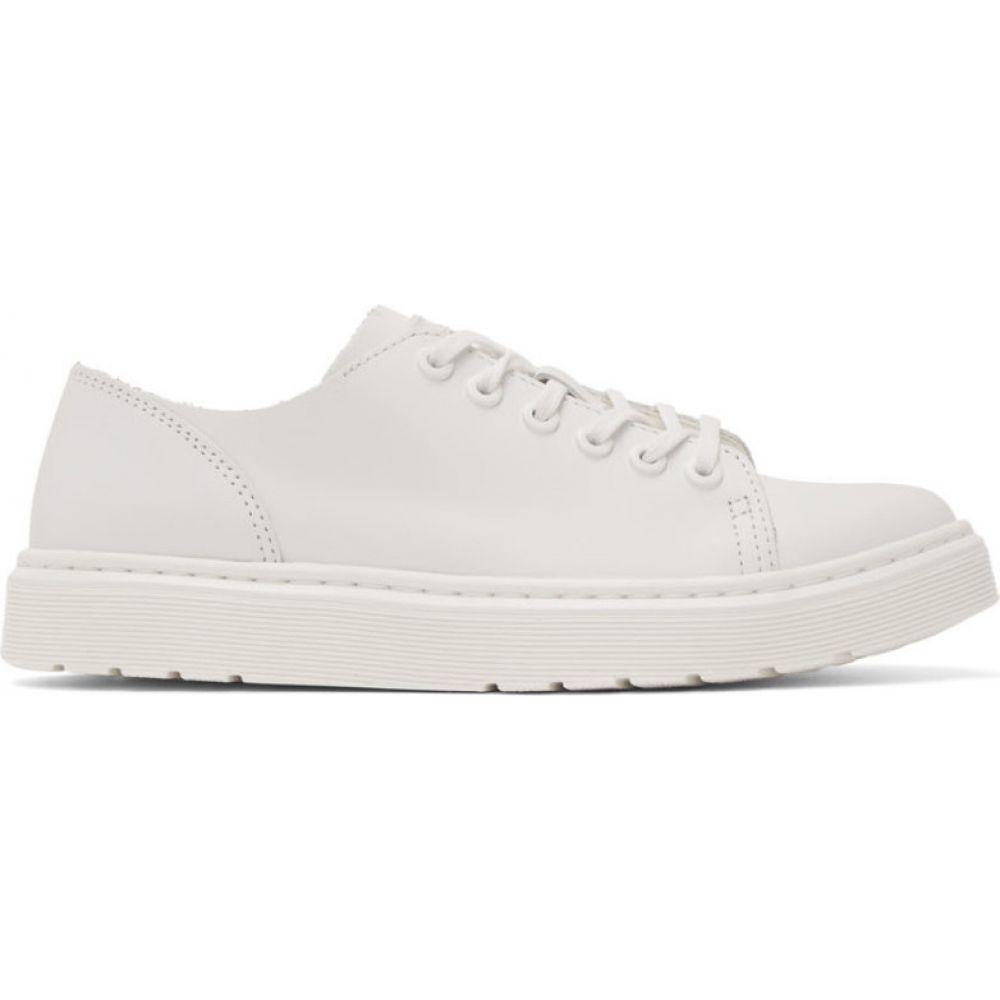 ドクターマーチン Dr. Martens メンズ スニーカー シューズ・靴【White Dante Sneakers】White