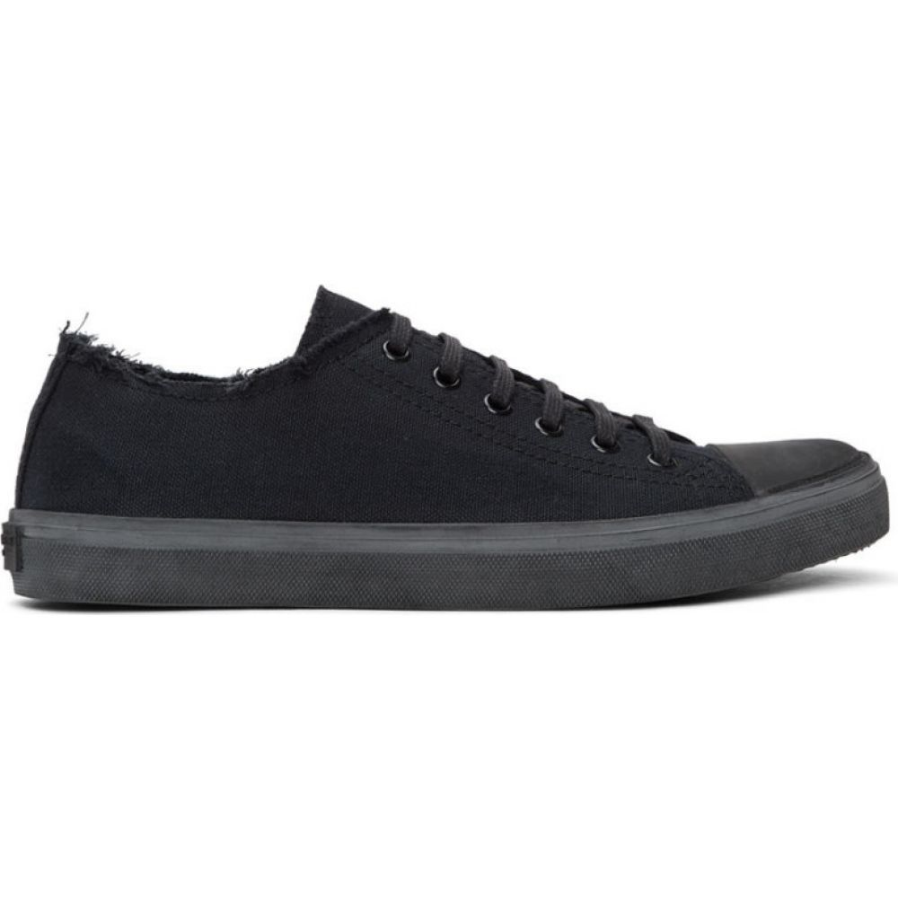 イヴ サンローラン Saint Laurent メンズ スニーカー シューズ・靴【Black Bedford Sneakers】Black