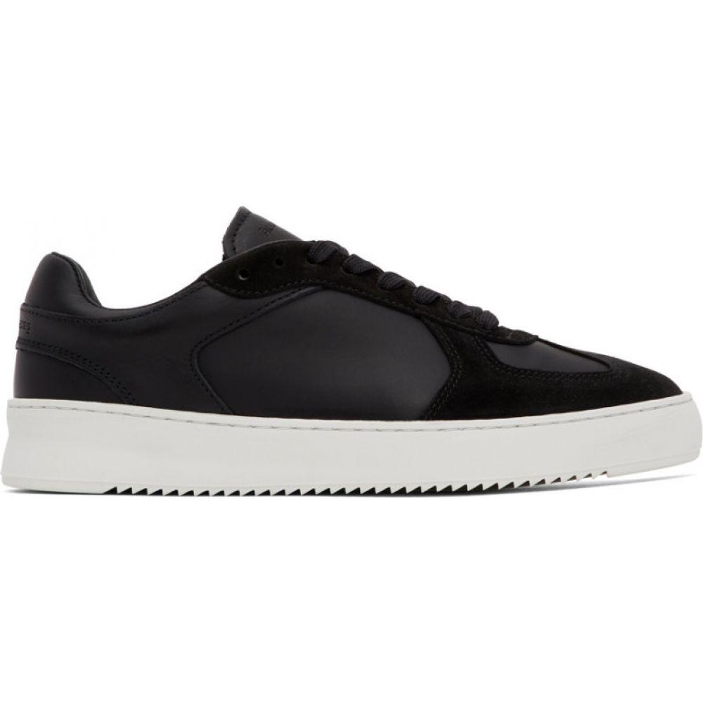フィリング ピース Filling Pieces メンズ スニーカー シューズ・靴【Black Field Ripple Pine Sneaker】Black