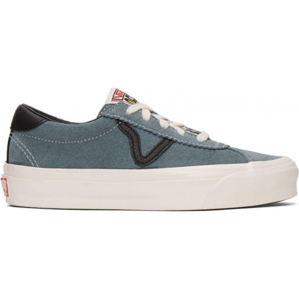 ヴァンズ Vans メンズ スニーカー シューズ・靴【Blue Suede OG Epoch LX Sneakers】Lead
