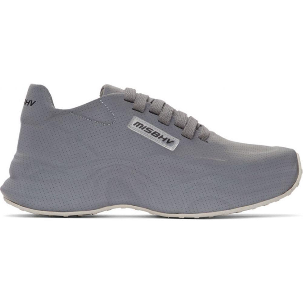 ミスビヘイブ MISBHV メンズ スニーカー シューズ・靴【Grey Moon Sneakers】Grey