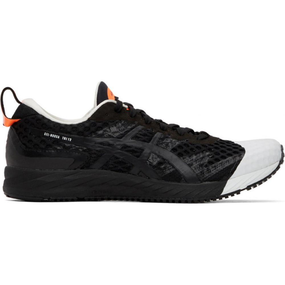 アフィクス Affix メンズ スニーカー シューズ・靴【Black Asics Edition Gel-Noosa Tri 12 Sneakers】Black