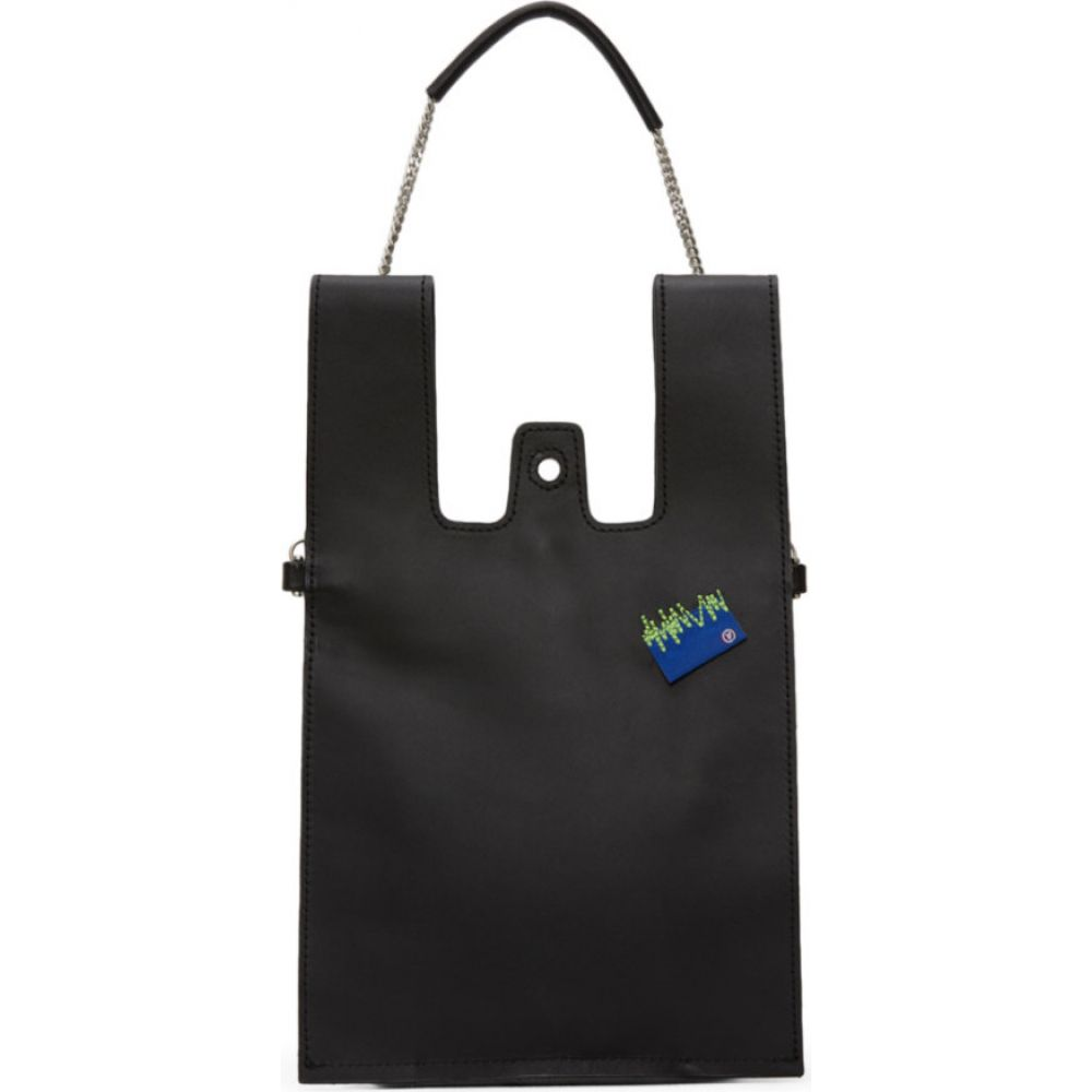 アーダーエラー ADER error レディース ショルダーバッグ バッグ Black Plastic Cross Shoulder Bag BlackQtCrxhds