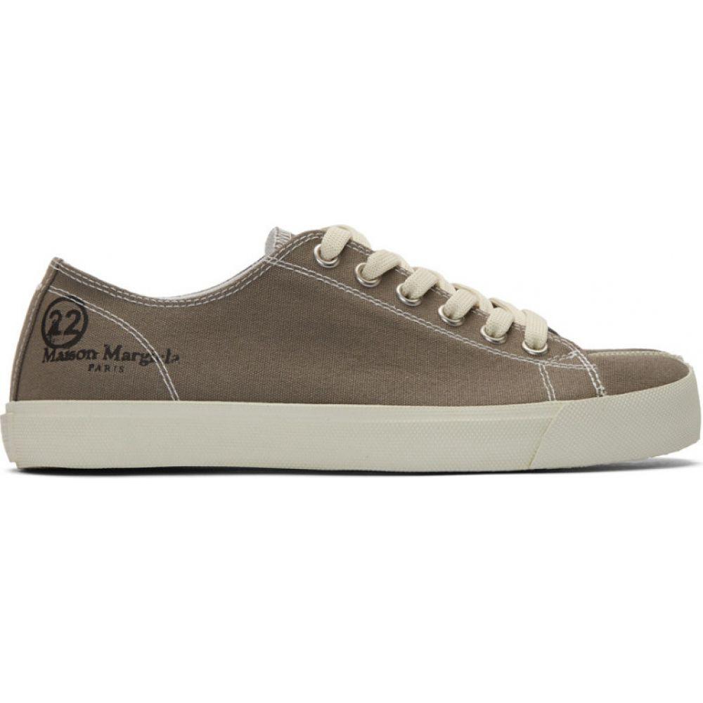 メゾン マルジェラ Maison Margiela メンズ スニーカー シューズ・靴【Taupe Tabi Sneakers】Brindle
