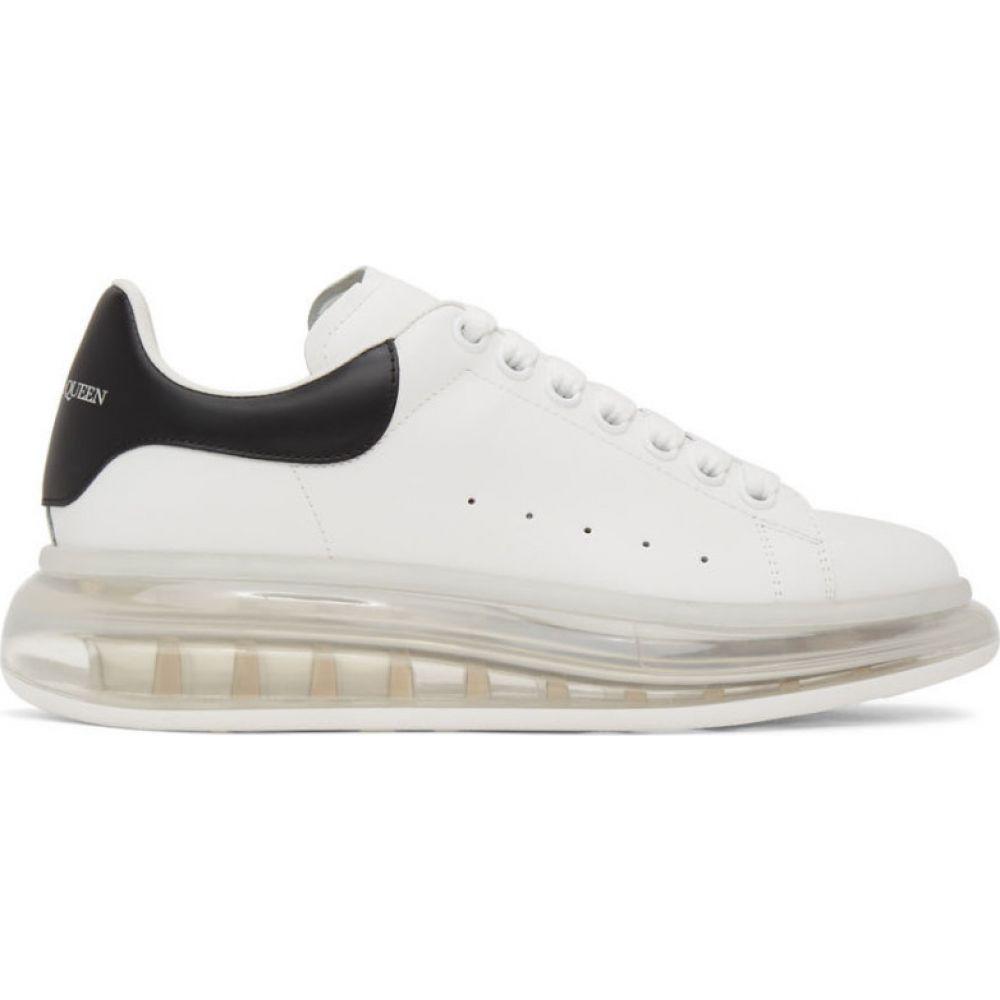 アレキサンダー マックイーン Alexander McQueen メンズ スニーカー シューズ・靴【White & Black Clear Sole Oversized Sneakers】White/Black