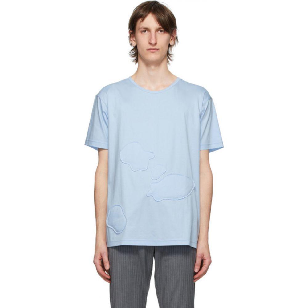 コーナーストーン Cornerstone メンズ Tシャツ トップス【Blue Cloud T-Shirt】Blue