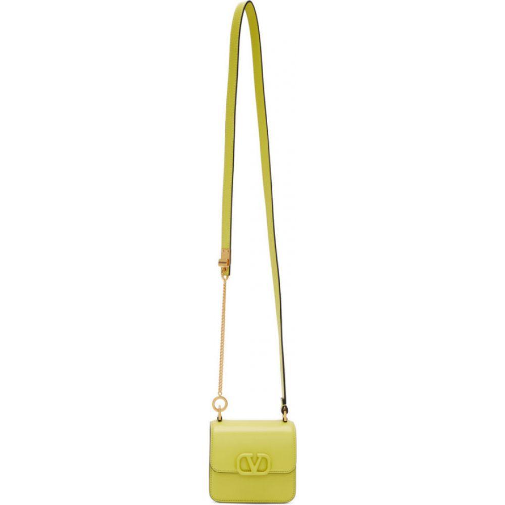 ヴァレンティノ Valentino レディース ショルダーバッグ バッグ【Green Garavani Mini VSling Shoulder Bag】Cedar