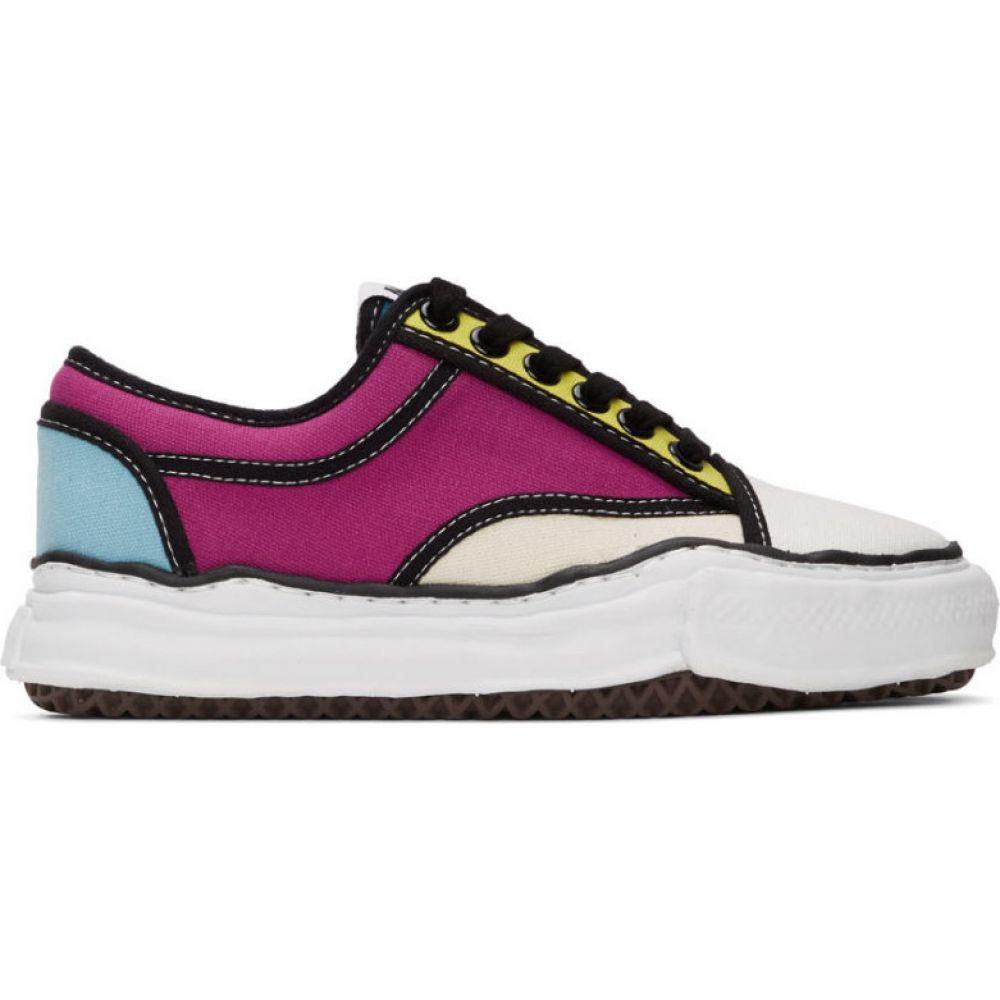 ミハラ ヤスヒロ Miharayasuhiro メンズ スニーカー シューズ・靴【Multicolor Sole Trick Detail Lowcut Sneakers】Multi