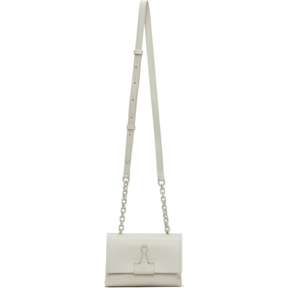 オフホワイト Off-White レディース ショルダーバッグ バッグ【Small Soft Binder Clip Bag】Off-white