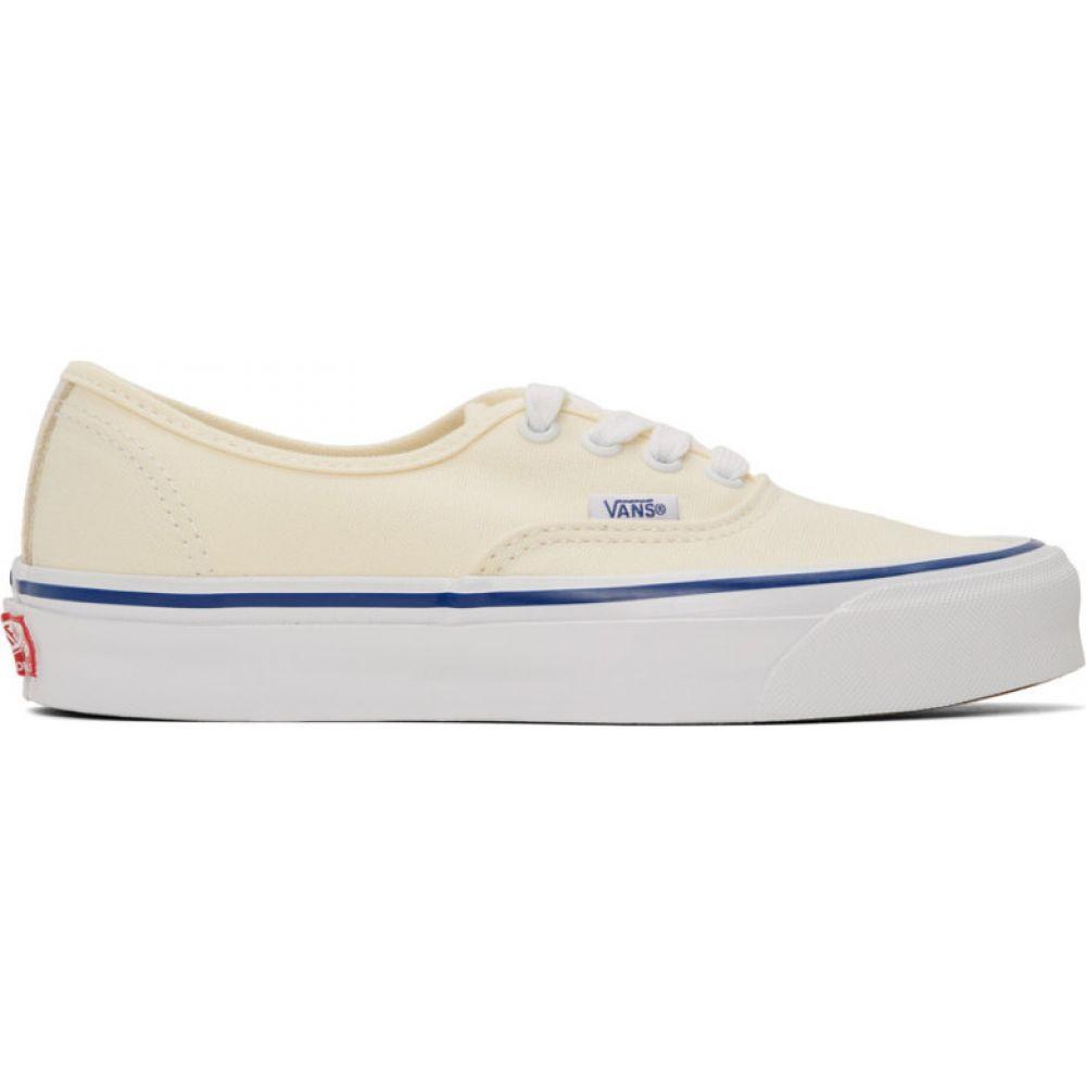 ヴァンズ Vans メンズ スニーカー シューズ・靴【Off-White OG Authentic LX Sneakers】White