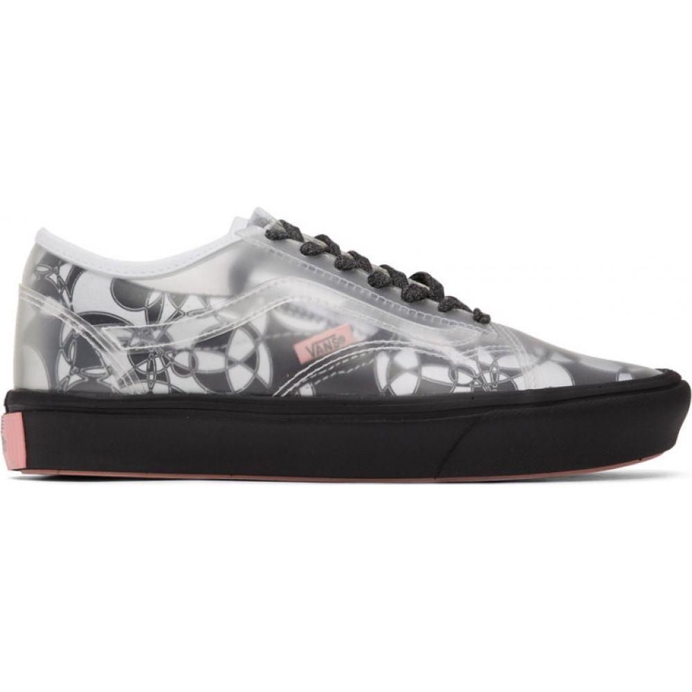 ヴァンズ Vans メンズ スニーカー シューズ・靴【Black & White PVC Zhou Zhou Edition Comfycush Slip-Skool Sneakers】Rat grey