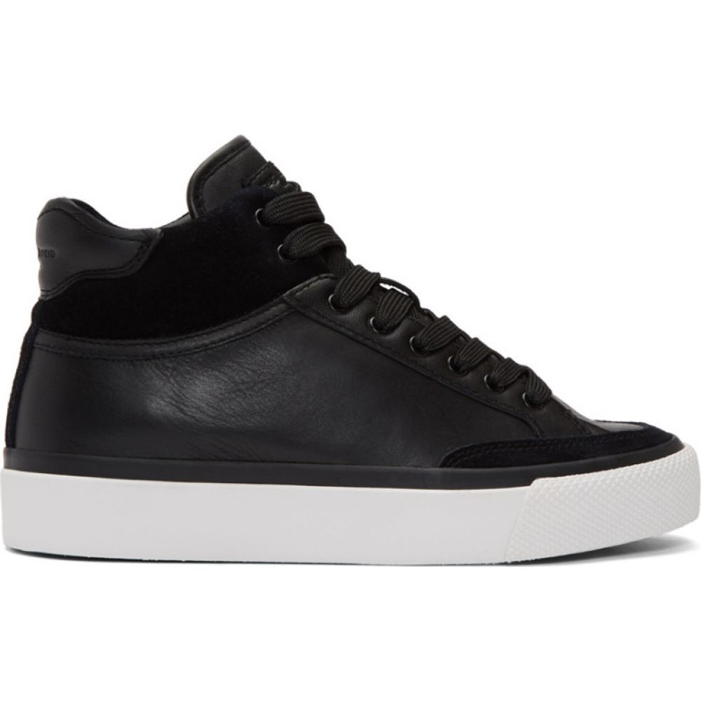 ラグ&ボーン rag & bone レディース スニーカー シューズ・靴【Black RB Army High-Top Sneakers】Black