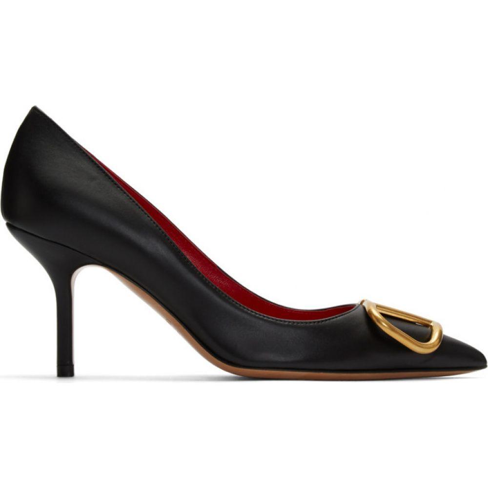 ヴァレンティノ Valentino レディース ヒール シューズ・靴【Black Garavani VLogo 80 Heels】Black
