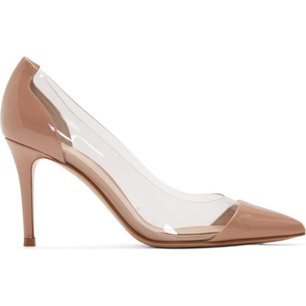 ジャンヴィト ロッシ Gianvito Rossi レディース ヒール シューズ・靴【Pink Patent Plexi 85 Heels】Dahlia