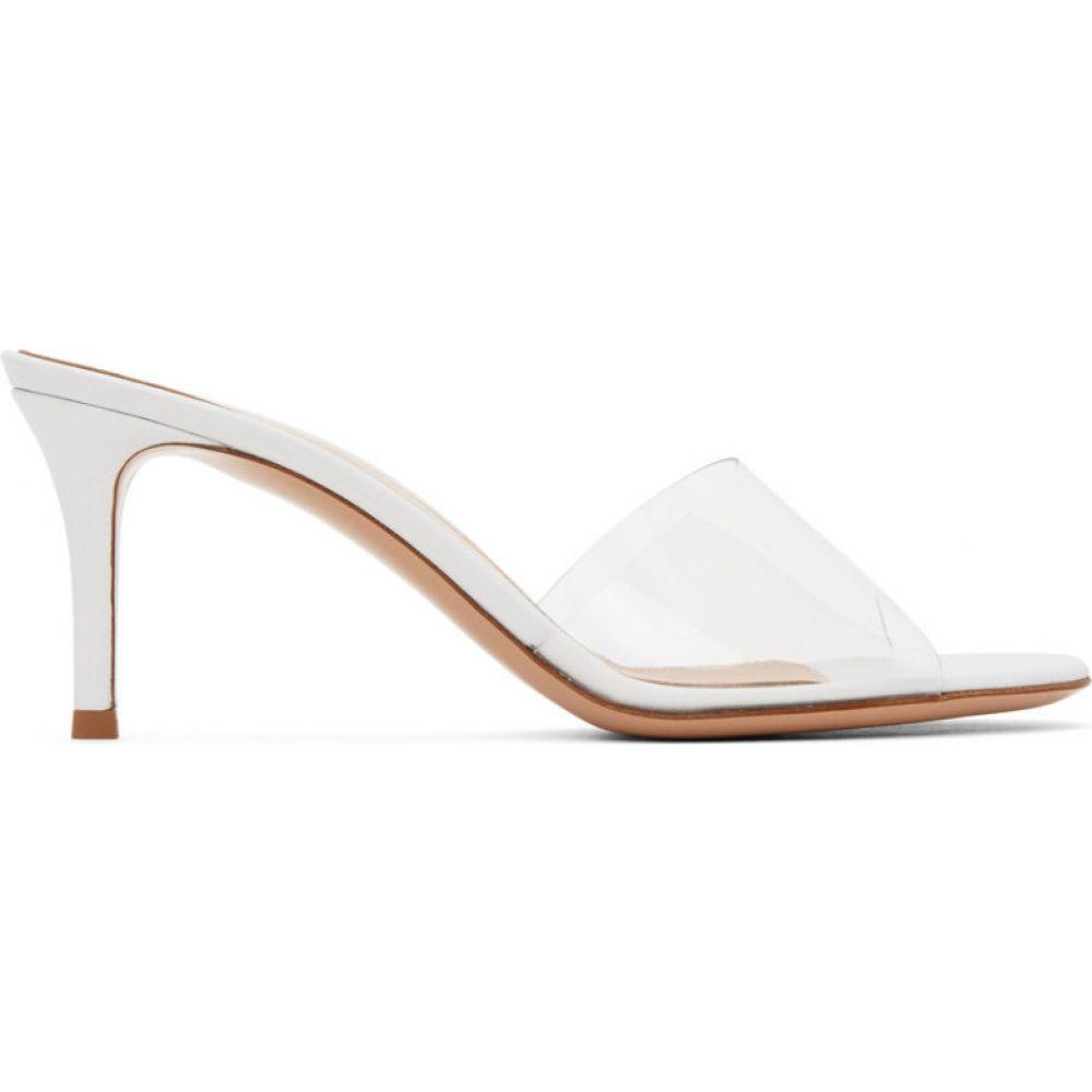ジャンヴィト ロッシ Gianvito Rossi レディース ヒール シューズ・靴【White Glass Heels】Transparent/White