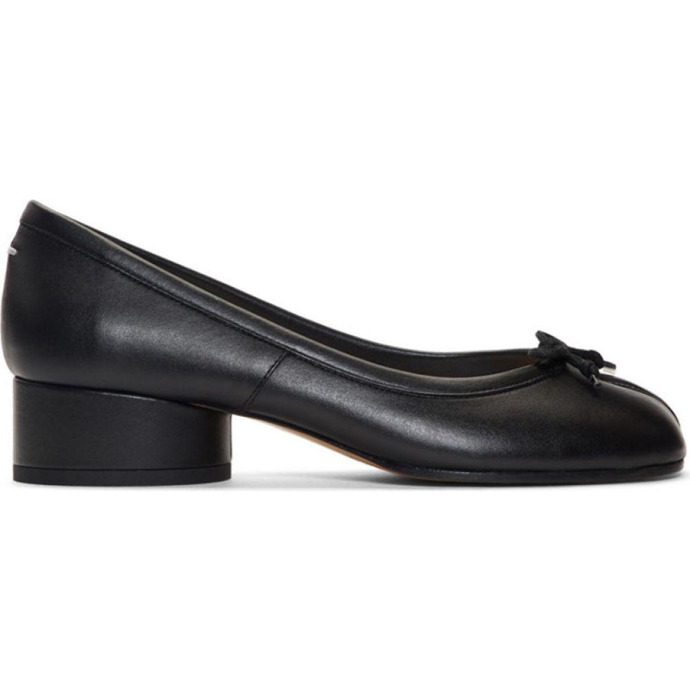 メゾン マルジェラ Maison Margiela レディース ヒール シューズ・靴【Black Tabi Ballerina Heels】Black