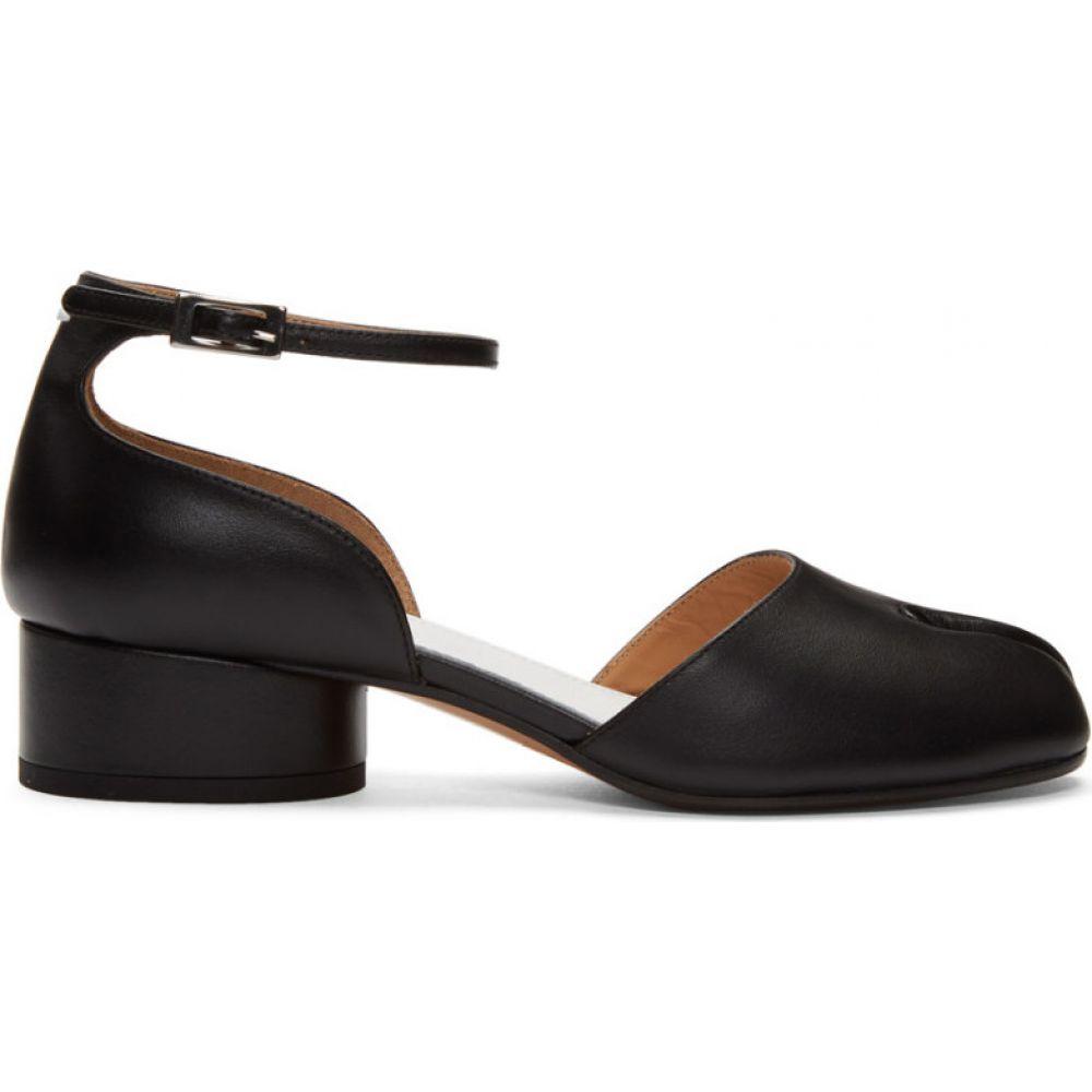 メゾン マルジェラ Maison Margiela レディース ヒール アンクルストラップ シューズ・靴【Black Tabi Ankle Strap Heels】Black