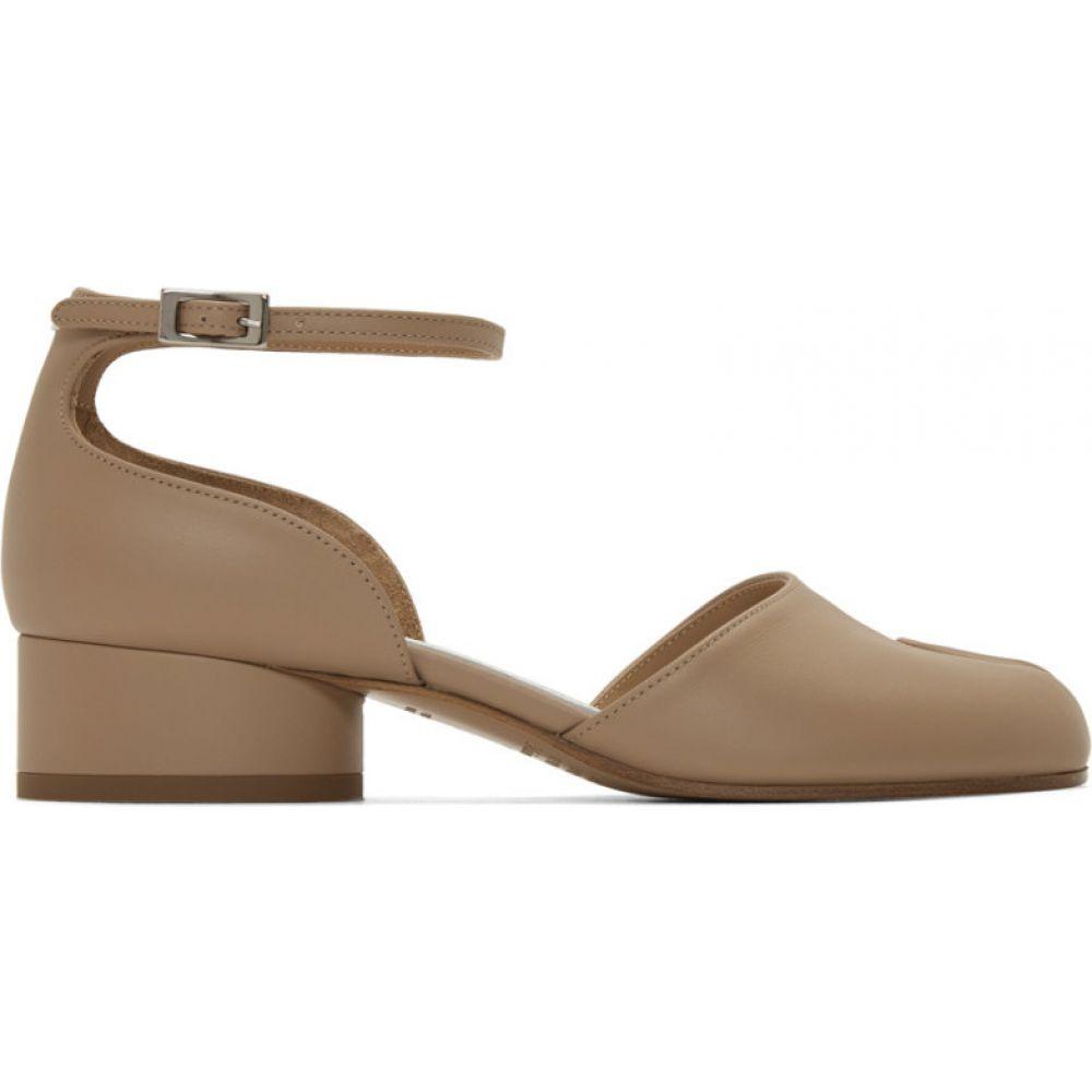 メゾン マルジェラ Maison Margiela レディース ヒール シューズ・靴【Tan Tabi Mary Jane Heels】Champ
