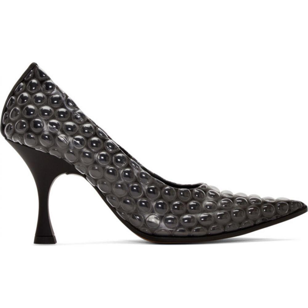 メゾン マルジェラ MM6 Maison Margiela レディース ヒール シューズ・靴【Black Bubble Wrap Heels】Black