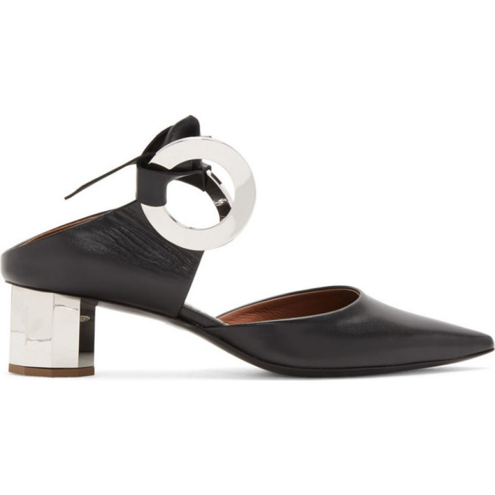 プロエンザ スクーラー Proenza Schouler レディース ヒール シューズ・靴【Black Mirror Heels】Black